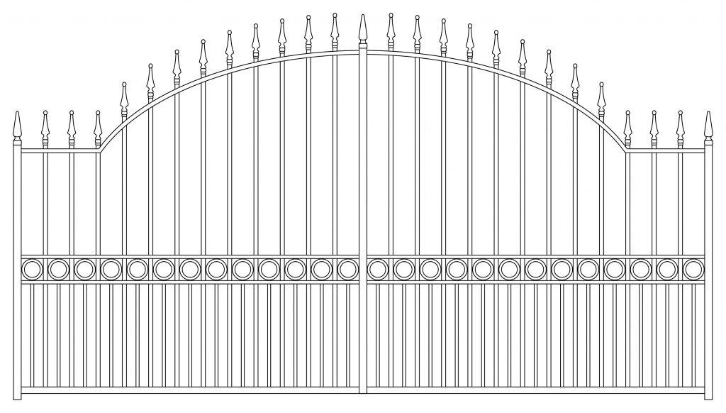 Gate Design 5 - TPS Electric Gates