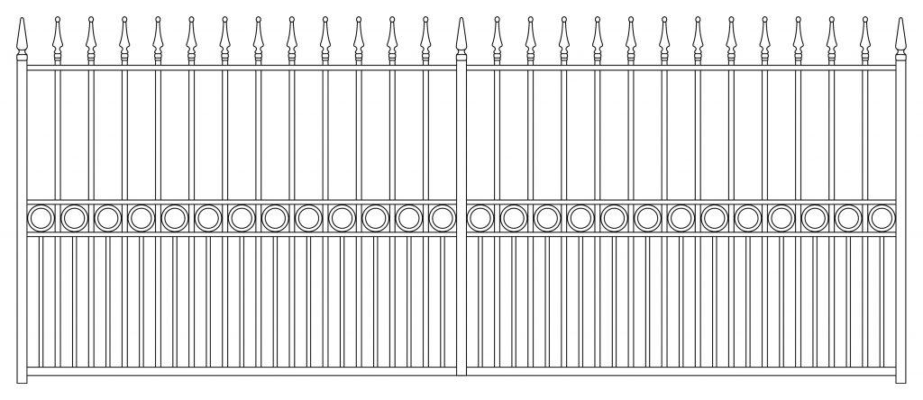 Gate Design 4 - TPS Electric Gates