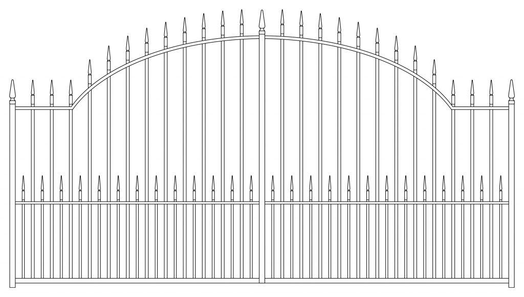 Gate Design 3 - TPS Electric Gates
