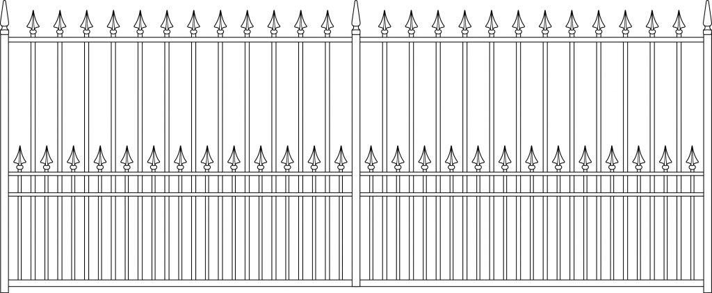 Gate 6 Flat - TPS Electric Gates