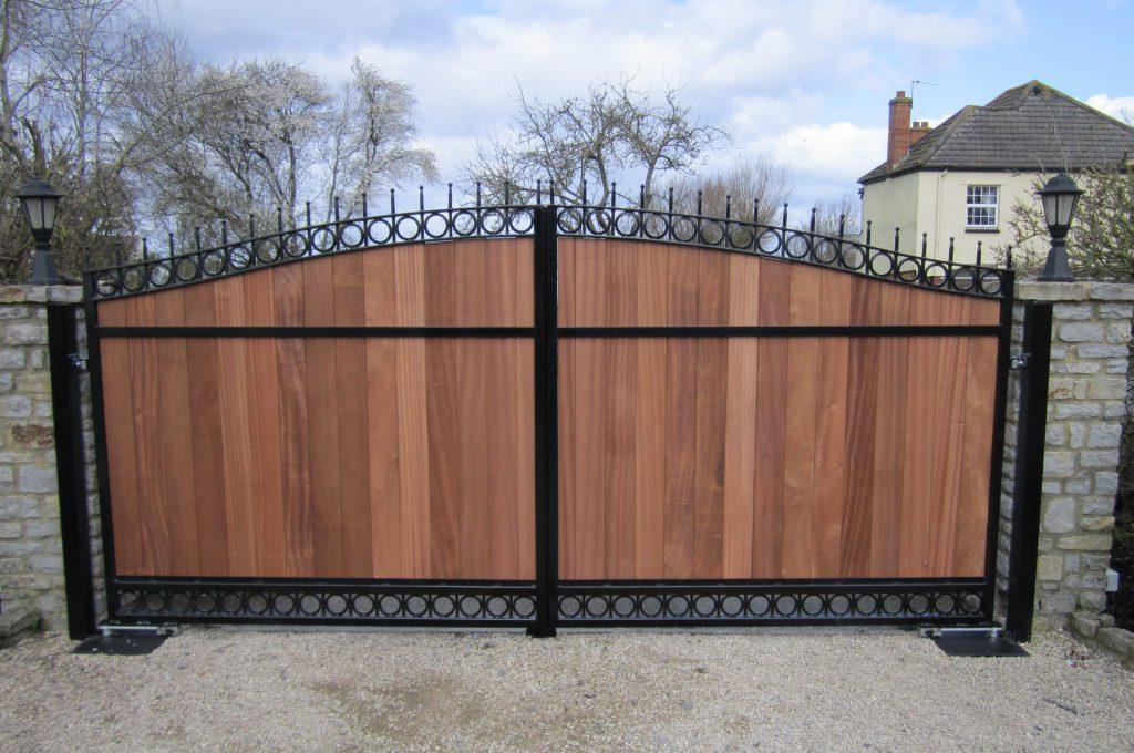 Steel Framed Gates Tps Gates Amp Doors Ltd Electric