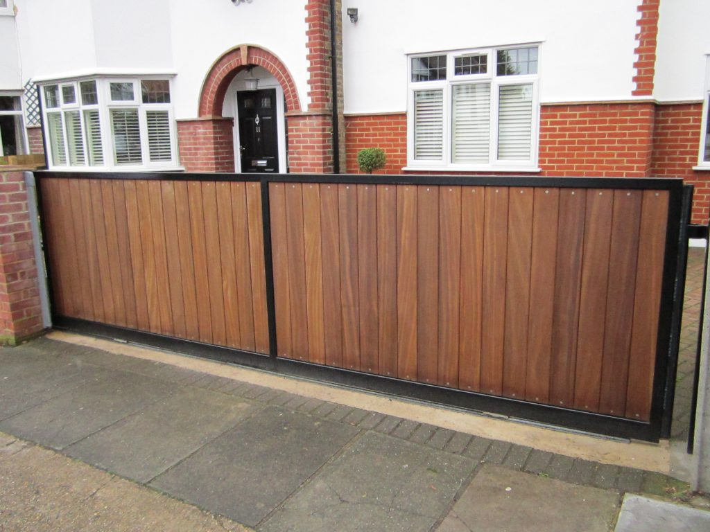 Electric Wood Gates Electric Gate Fitters Tps Electric