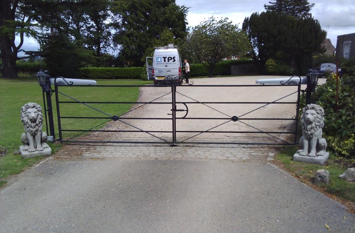 Electric Gates 21 - TPS Electric Gates