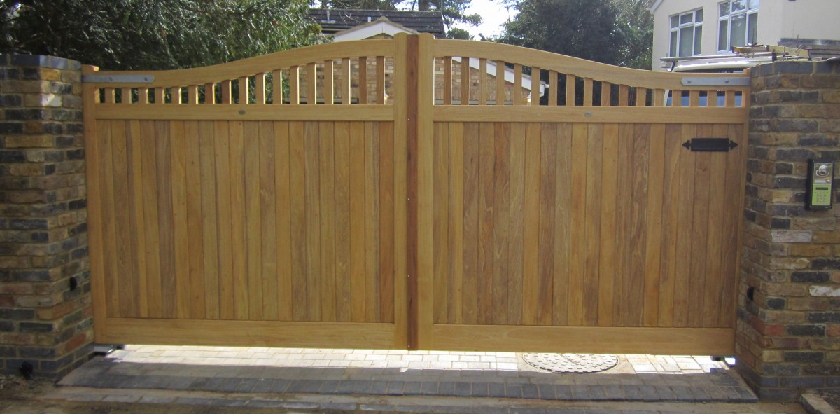 Wooden Gates 56 - TPS Electric Gates