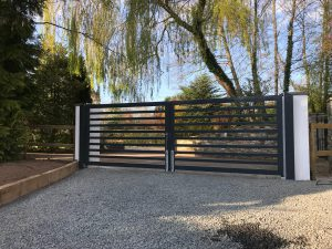electric gate doors