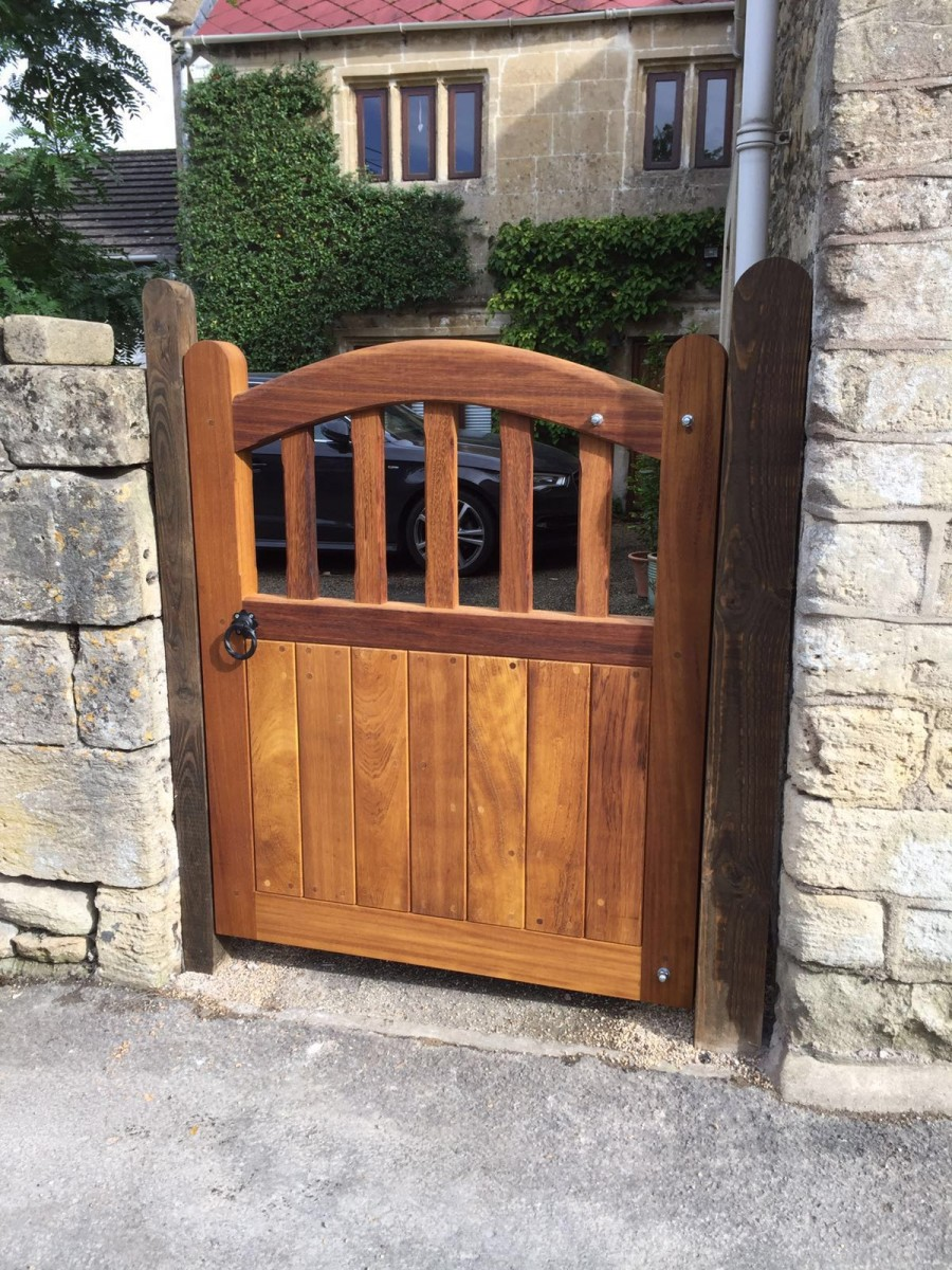 Wooden Gates 108 - TPS Electric Gates