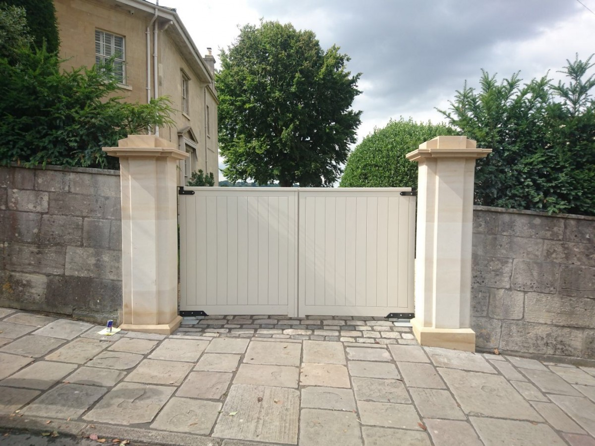Wooden Gates 94 - TPS Electric Gates